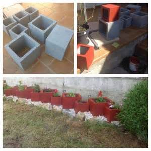 cinder block planter idea diy ideas