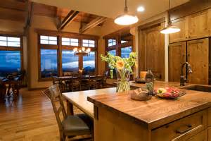 kitchen dining room design in bend chi complements