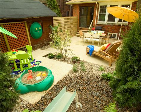 kid friendly backyard landscaping ideas kids garden ideas with fabulous playground design 3121