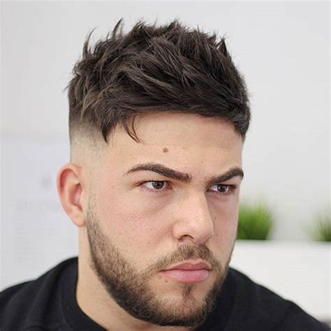 textured top faded sides 27 best hairstyles for men with thick hair