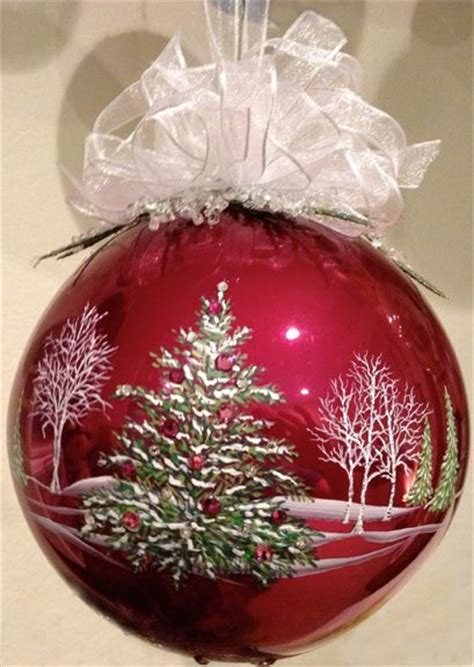 25 best ideas about painted christmas ornaments on