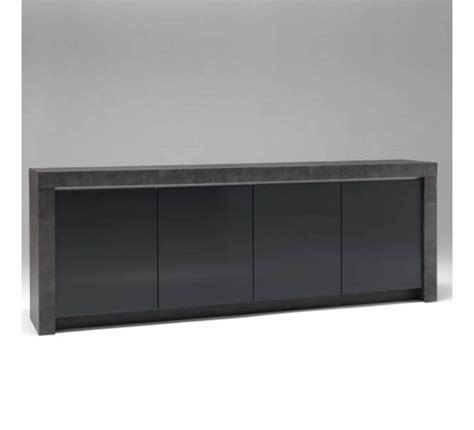 Tabouret De Bar Coloré by Meuble Contemporain B 233 Ton Et Laque Gris Anthracite Quot Colora