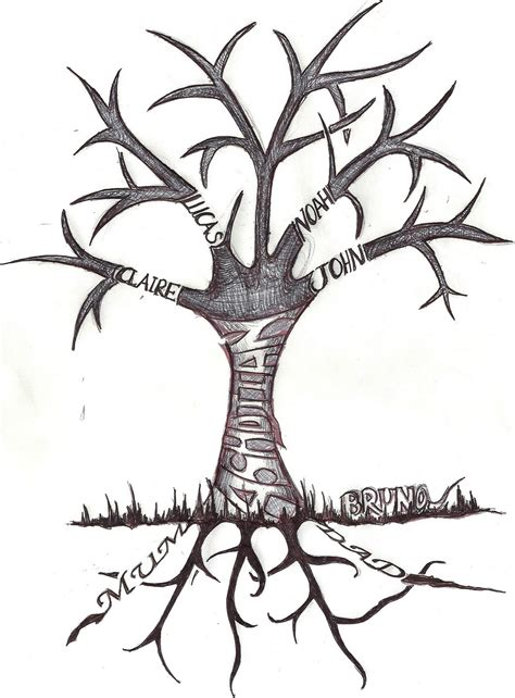 tree with roots tattoo the floating craft company february 2011