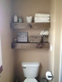 decorating ideas for bathroom shelves 10 id 233 es de rangements au dessus de la toilette