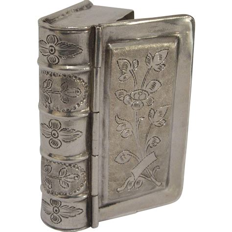 the silver box the silver box series books antique silver figural book box from kirstenscorner on