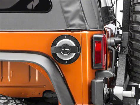 Jeep Jk Fuel Door Road Wrangler Billet Fuel Door Jp 190004 Blk 07