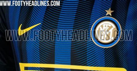 Jaket Inter Milan 16 17 inter milan 16 17 home kit leaked footy headlines