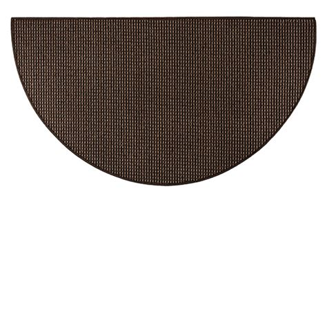 Goods Of The Woods Hearth Rugs by Goods Of The Woods Black Cozy Half Olefin Hearth Rug