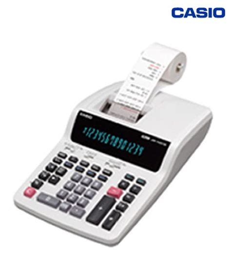 Kalkulator Casio Printing Dr 140tm casio desk top type printing calculator dr 140tm buy at best price in india snapdeal