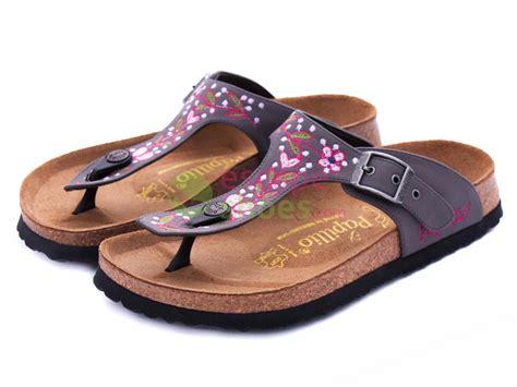 flowered birkenstock sandals sandals birkenstock 204291 gizeh textile flower fuchsia