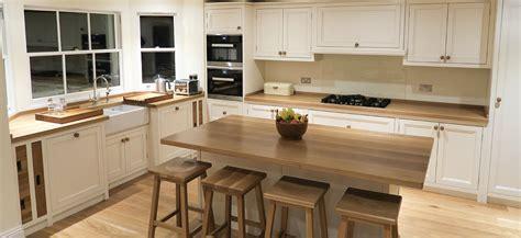 oak kitchen worktop walnut traditional plank