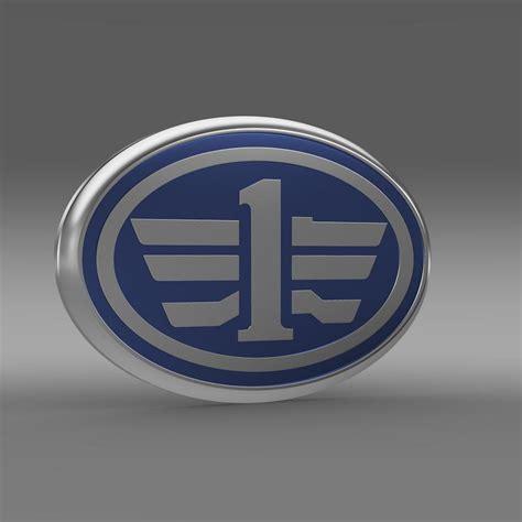 faw logo faw logo 3d model max obj 3ds fbx c4d lwo lw lws