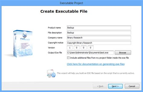write exle how to make an exe file reportspdf819 web fc2