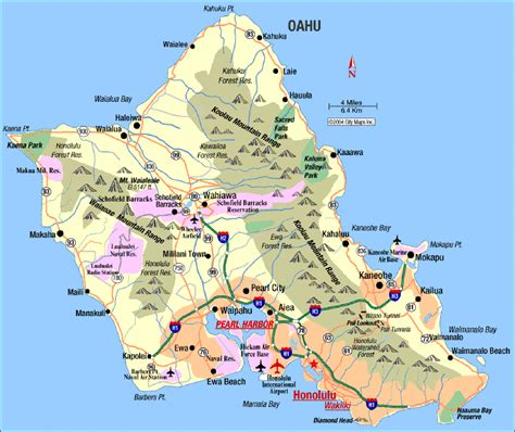 Detox Centers On Ohau Hawaii by Map If Hawaii Island Oahu Hawaii Map See Map Details