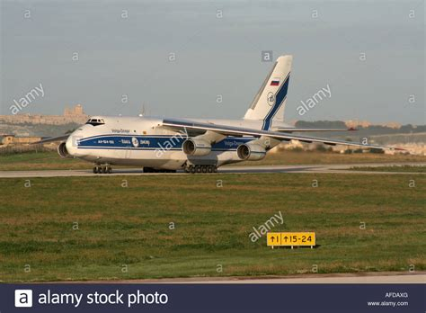 air freight transport antonov an 124 ruslan heavy cargo jet operated stock photo royalty free