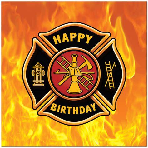 Firefighter Birthday Cards Firefighter Happy B Day Firefighters Birthday Cards