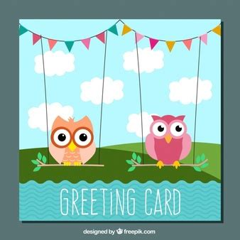 birthday card template freepik bird vectors photos and psd files free