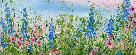 my flower garden create a splattered paint flower garden my flower journal