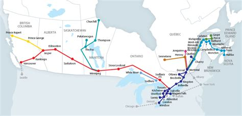 train routes trains via rail