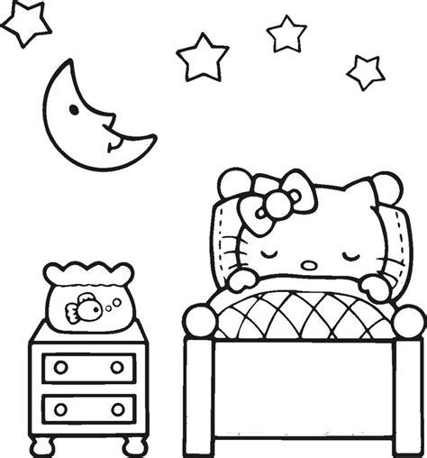 coloring pages hello kitty baby 17 best images about hello kitty coloring pages on