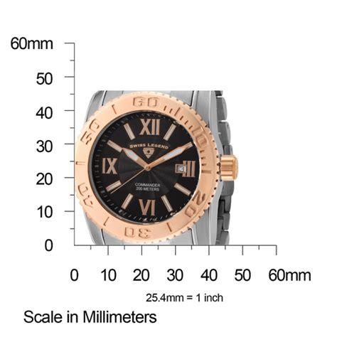 Swiss 8151 Black Rosegold List swiss legend s commander bracelet watches