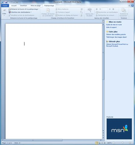 Microsoft Office Starter by Microsoft Office Starter 2010 Le De La Formation