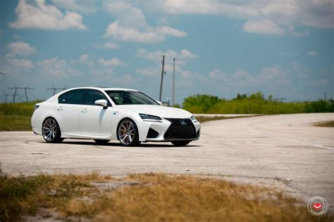 lexus gsf white army green lexus rc f white gs f pose on custom rims 49