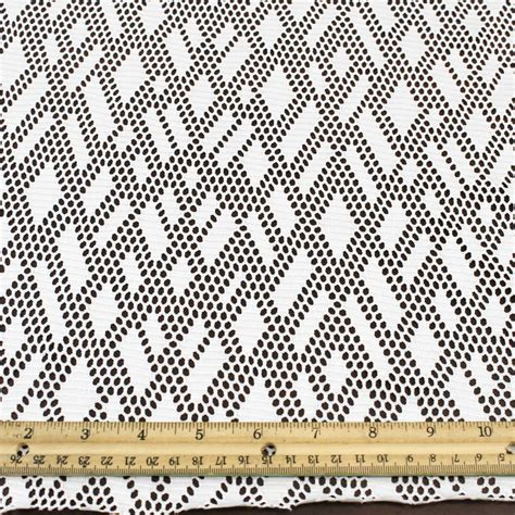 discount upholstery fabric by the yard off white stretch lace fabric by the yard or wholesale rhombus
