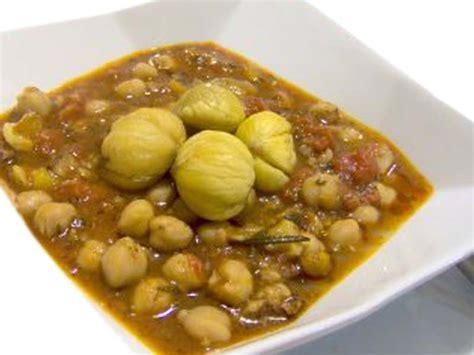 come si cucinano i ceci secchi zuppa di castagne e ceci come fare alimentipedia