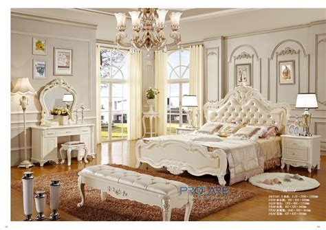 antique bedroom suites european royal white solid wood hand carved antique style