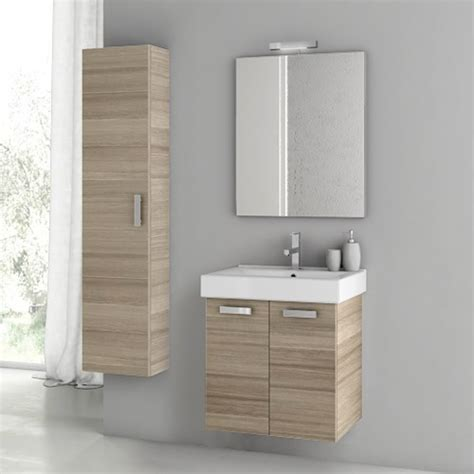 22 Inch Bathroom Vanity Modern 22 Inch Cubical Vanity Set With Storage Cabinet Glossy White Zuri Furniture