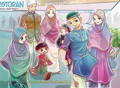 muslim happy family  joejitakashdeviantartcom