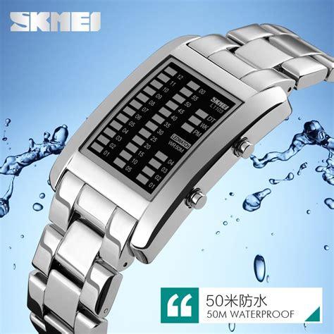 Jam Tangan Unik skmei jam tangan led unik 1103a black jakartanotebook