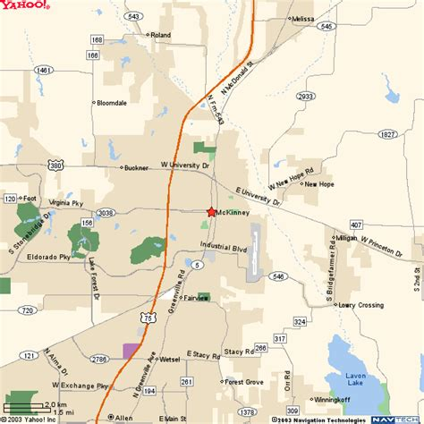 map of mckinney texas mckinney texas map and mckinney texas satellite image