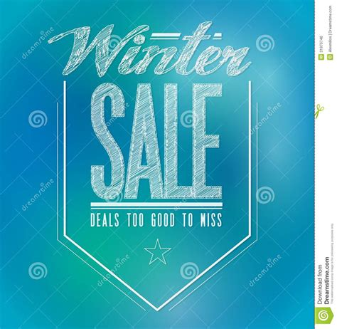 green lights for sale blue and green lights winter sale poster sign stock