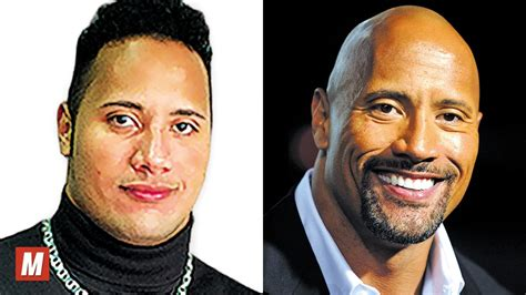 dwayne quot the rock quot johnson from 1 to 45 years old youtube