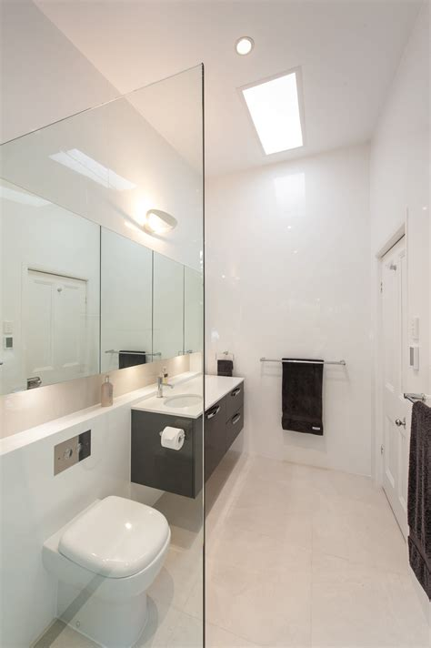 Modern Minimalist Bathroom Lighting Light Minimalist And Contemporary Bathroom Design