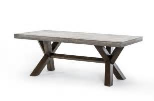 modrest concrete rectangular dining table