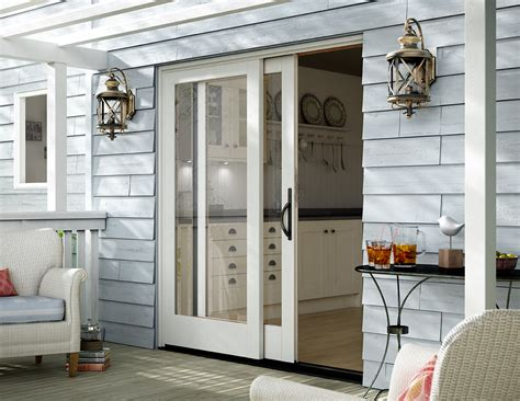 pocket patio doors sliding patio doors vinyl sliding aluminum milgard