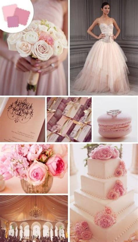 blush wedding blush wedding color palettes 798552