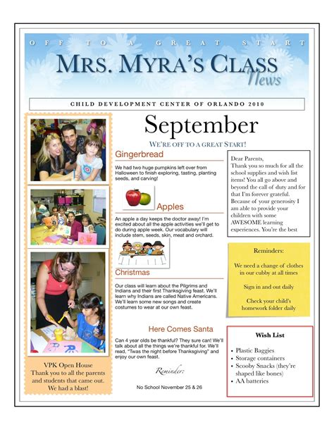 newsletter layout terms free monthly preschool newsletter template pikpaknews free
