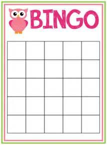 printable blank baby shower bingo cards www awalkinhell