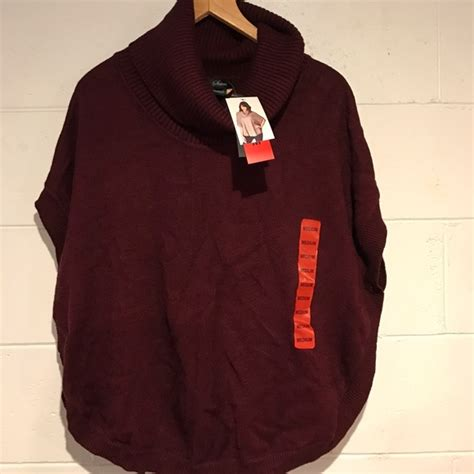 wine colored sweater 22 sweaters nwt wine colored poncho style sweater
