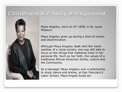 Angelou Biography Essay by Angelou Essay
