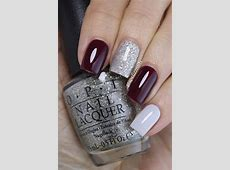 15+ Winter Gel Nails Art Designs & Ideas 2018 | Modern ... French Tip Nail Designs With Glitter