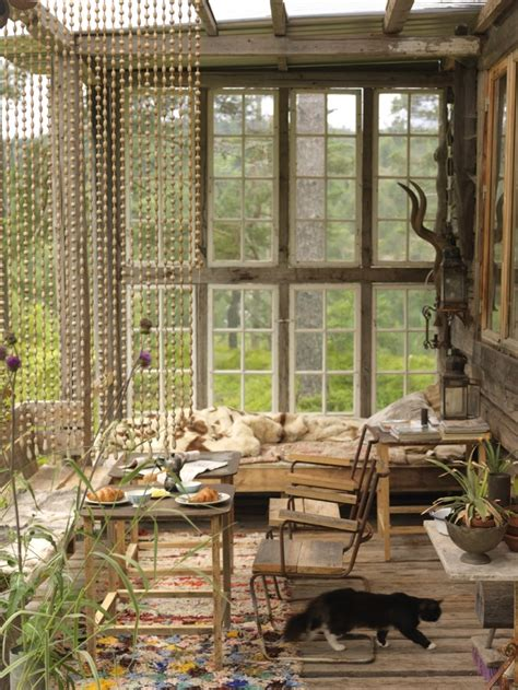 Sun Windows Decor 23 Beautiful Boho Sunroom Design Ideas Digsdigs