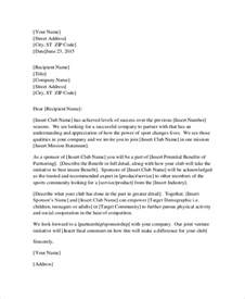 Letter For Business Cooperation 32 Sle Business Letters