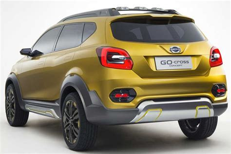 New Datsun Go Ready Stock datsun go cross might launch before redi go sources the