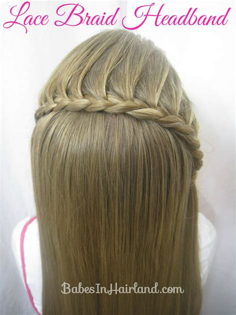 lace braid headband babes  hairland