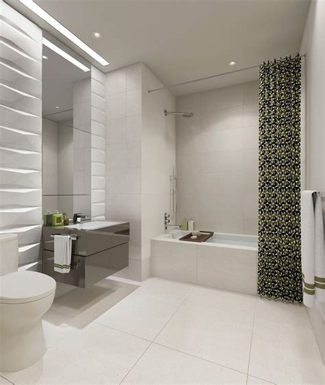 White Porcelain Tile Bathroom by Contemporary Bathroom With Arizona Tile Pearl White